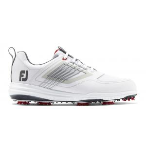 FootJoy Fury Golf Shoes - White/Grey