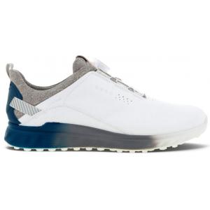 Ecco S-Three Men's Golf Shoes - White/Seaport
