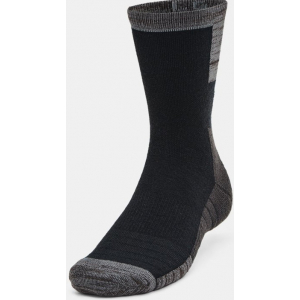 Under Armour Cold Weather Crew Socks 2 Pack - Black/Grey