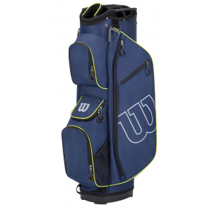 Wilson Prostaff Cart Bag - Blue/Green