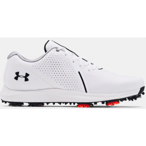 Under Armour Charged Draw RST Wide E Men's Golf Shoe - White (100)