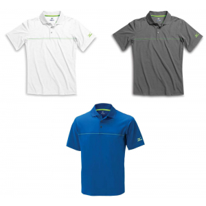 Mizuno Chest Stripe Polo Shirt