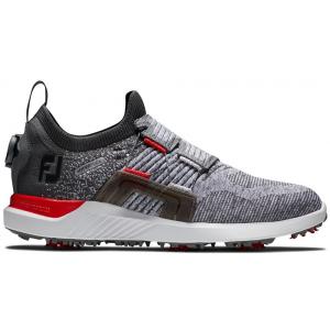 FootJoy HyperFlex BOA Men's Golf Shoes - Grey/Red