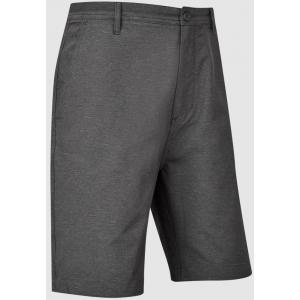 FootJoy Broken Stripe Woven Men's Golf Shorts - Black