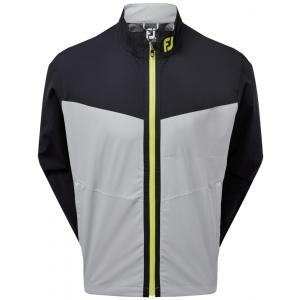 FootJoy HydroLite Waterproof Jacket - Black/Grey/Lime