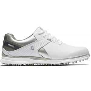 FootJoy Pro SL Boa Women's Golf Shoes - White/Silver/Grey