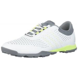 Adidas Women's adipure sport golf shoe - White/Grey/Yellow