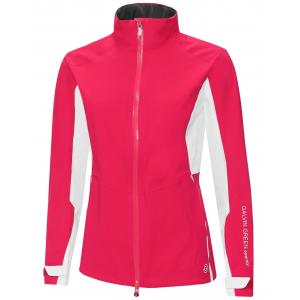 Galvin Green Alicia GORE-TEX Paclite Ladies Waterproof Golf Jacket - Azalea/White
