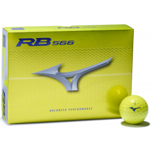 Mizuno RB 566 Golf Balls - Yellow