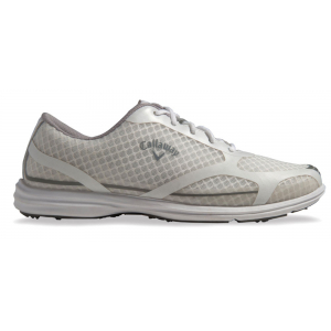 Callaway Sky Series Solaire Women's Golf Shoe White/ Silver 4.5 (W491)