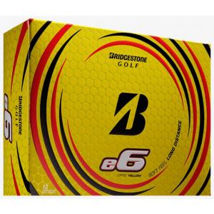 Bridgestone e6 Golf Balls - Yellow
