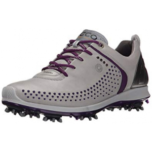 ECCO Biom G2 Ladies Golf Shoe - concrete/purople