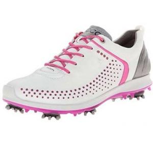 ECCO Biom G2 Ladies Golf Shoe - white/pink