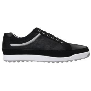 FootJoy Contour Casual Golf Shoes Black/Silver #54328k