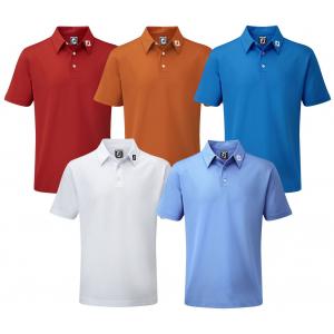 FootJoy Junior Stretch Pique Solid Polo Golf Shirt