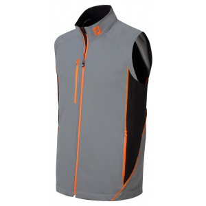 Steel Grey & Black with Orange