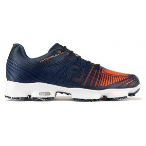 Navy & Orange #51025 - FootJoy HyperFlex II Golf Shoes 2017