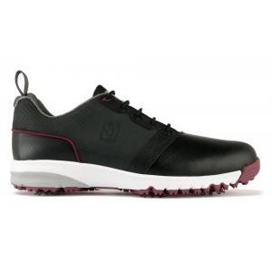 Black & Charcoal & White #54154 - FootJoy ContourFIT Golf Shoes 2017