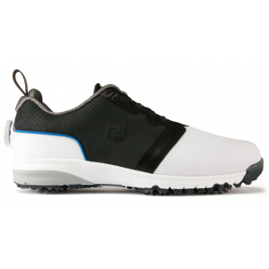 The FootJoy ContourFIT BOA Golf Shoes use Pulsar™ Cleats by Softspikes®.