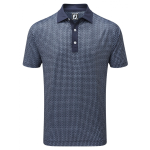 FootJoy Pique Paisley Polo Shirt - 92185