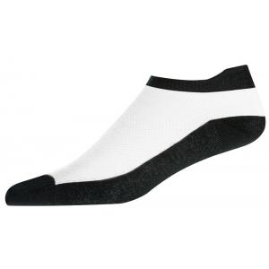 FootJoy ProDry Lightweight Ladies Socks - Black/White - Size 4-7