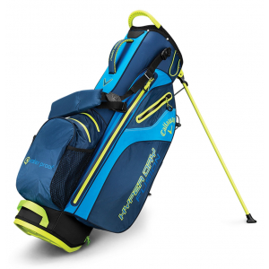 Callaway Golf Hyper Dry Fusion Stand Bag - Navy/Royal/Neon Yellow