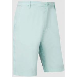 FootJoy Broken Stripe Woven Men's Golf Shorts - Ice Blue