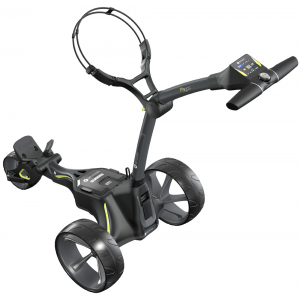 Motocaddy 2021 M3 GPS Electric Trolley - Ultra (36-hole) Lithium Battery + Free Accessory Station & Umbrella Holder