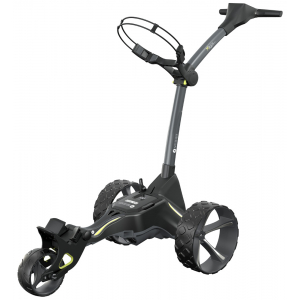 Motocaddy 2021 M3 GPS DHC Electric Trolley - Standard (18-hole) Lithium Battery + Free Accessory Station & Umbrella Holder