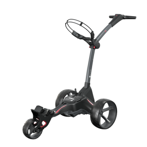 Motocaddy 2021 M1 Electric Trolley - Ultra (36-hole) Lithium Battery + Free Accessory Station & Umbrella Holder