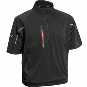 Miunzo Flex 1/4 Zip Waterproof Jacket - Black