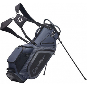TaylorMade Pro 8.0 Stand Bag - Charcoal/Black
