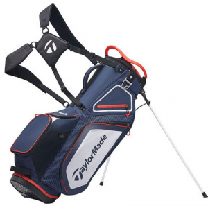 TaylorMade Pro 8.0 Stand Bag - Navy/White/Red