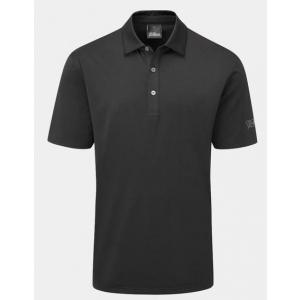 Oscar Jacobson Chap Polo Shirt - Black