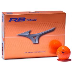 Mizuno RB 566 Golf Balls - Orange