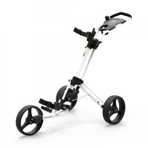 Powakaddy Twinline 5 Lite Push Cart - Gloss White