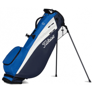 Titleist Players 4 Carbon Stand Bag - Navy/White/Royal