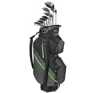 TaylorMade RBZ Speedlite Mens Package Set - Graphite Shaft Irons and Cart Bag