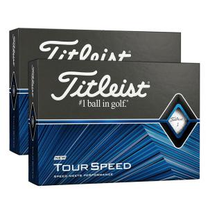 Titleist Tour Speed Golf Balls - White - 24 Ball Pack (FREE Camelbak Water Bottle)