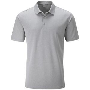 Ping Lincoln Golf Polo Shirt - Silver Marl