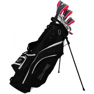 Spalding Golf SX35 Mens Package Set - Steel Shafts and Stand Bag
