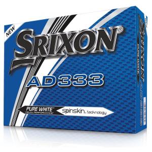 Srixon AD333 Golf Balls Super Sleeve Pack Double Dozen (24) - White