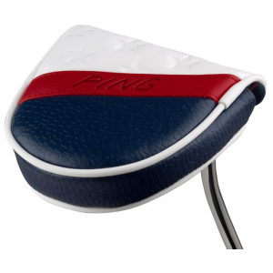 PING Stars and Stripes Limited Edition Mallet Putter Headcover