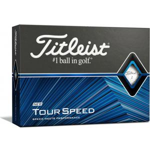 Titleist Tour Speed Golf Ball - White - 12 Pack