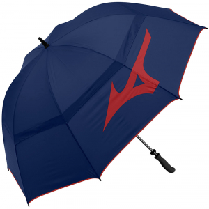 Mizuno Tour Twin Canopy Umbrella - Navy/Red