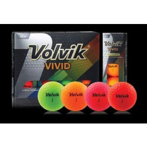 Volvik VIVID Dozen Golf Balls
