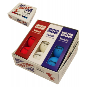 Volvic Red , White & Blue Pack