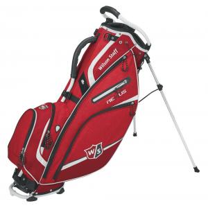 RED/WHITE - Wilson Staff Nexus III Carry Bag