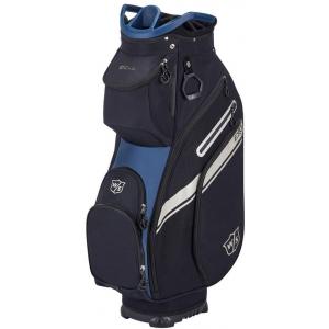 Wilson Staff EXO II Cart Bag - Black/Blue