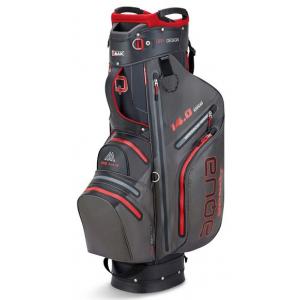 Big Max AQUA Sport 3 Cart Bag - Charcoal/Black/Red